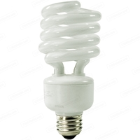 Spiral CFL - 27 Watt - 100W Equal -2700K Warm White - Mogul Base