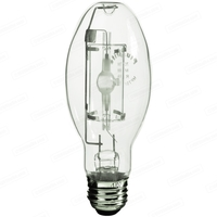 70 Watt - ED17-P - Pulse Start - Metal Halide - Protected Arc Tube - 4200K - ANSI M98/O - Medium Base - Universal Burn - MP70/ED17/U/4K - Plusrite 1033