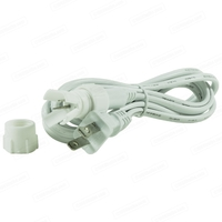 5/8 in. - Rope Light Power Cord and Connector - Length 6 ft. - 2 Wire - FlexTec IU1IU2