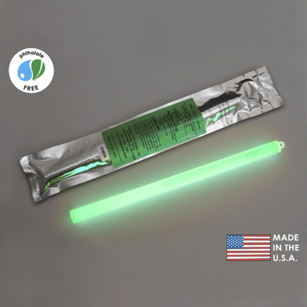 Cyalume 9-2705101 - Green - 12 Hours Image