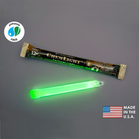 (10 Pack) Cyalume 9-42290PF - NSN 6260-01-074-4229 - 6 in. ChemLight Light Sticks - Green - 12 Hours - Military Grade