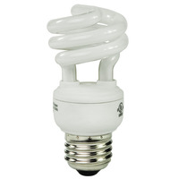 Spiral CFL - 9 Watt - 40W Equal - 2700K Warm White - 80 CRI - 58 Lumens per Watt