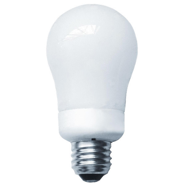 A-Shape CFL - 9 Watt - 45W Equal - 2700K Warm White Image