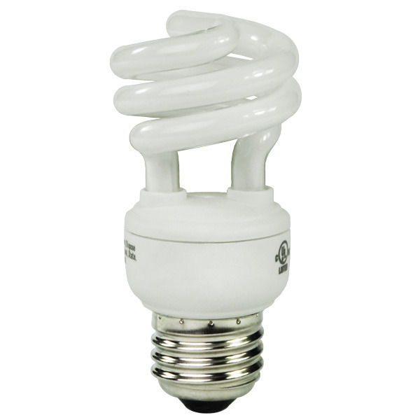 T2 Spiral CFL - 9 Watt - 40W Equal - 2700K Warm White Image