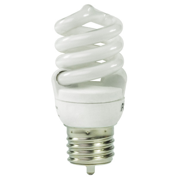 T2 Spiral CFL - 10 Watt - 40W Equal - 4100K Cool White Image