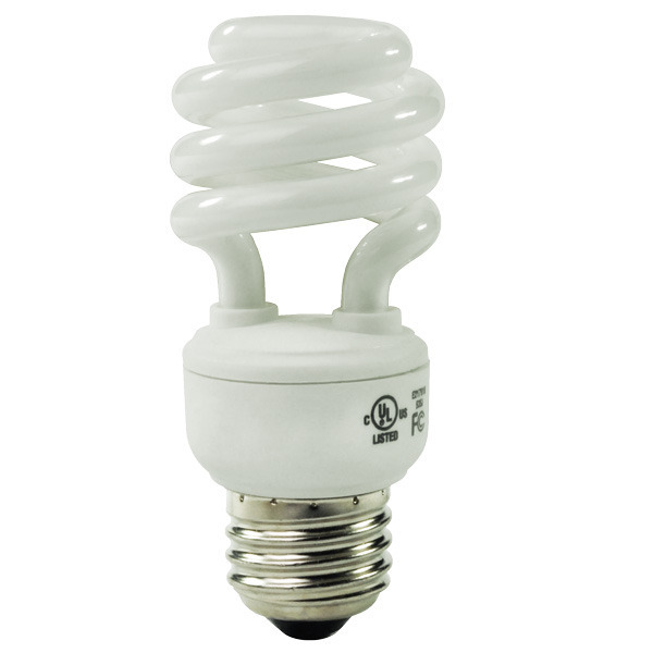 Spiral CFL - 11 Watt - 50W Equal - 2700K Warm White Image
