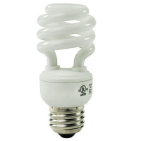Spiral CFL - 11 Watt - 50W Equal - 2700K Warm White - 80 CRI - 55 Lumens per Watt