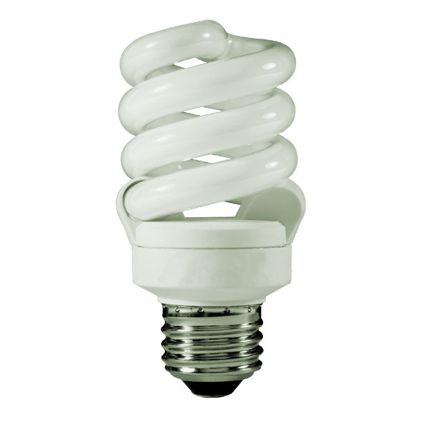 Spiral CFL - 13 Watt - 60W Equal - 5100K Full Spectrum Image