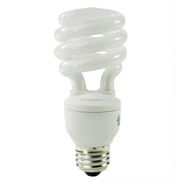 Spiral CFL - 15 Watt - 60W Equal - 4100K Cool White Image