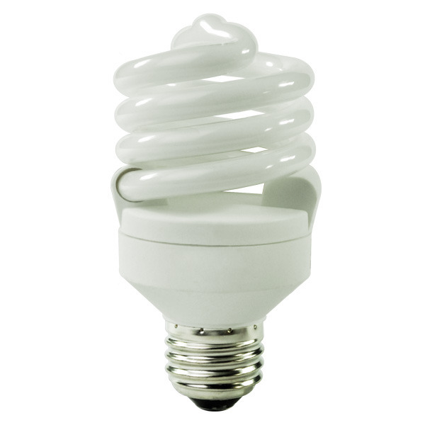 Spiral CFL - 18 Watt - 75W Equal - 6500K Full Spectrum Daylight Image