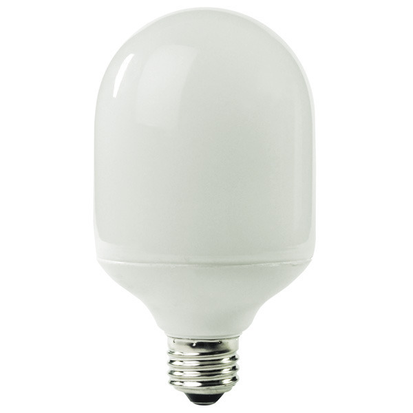 Bullet Shape CFL - 19 Watt - 75W Equal - 2700K Warm White Image