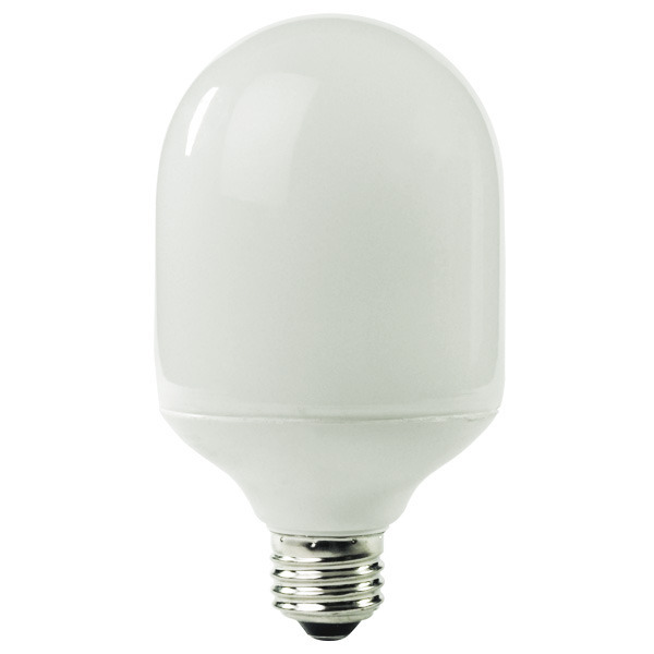 Bullet Shape CFL - 19 Watt - 75W Equal - 5100K Full Spectrum Image