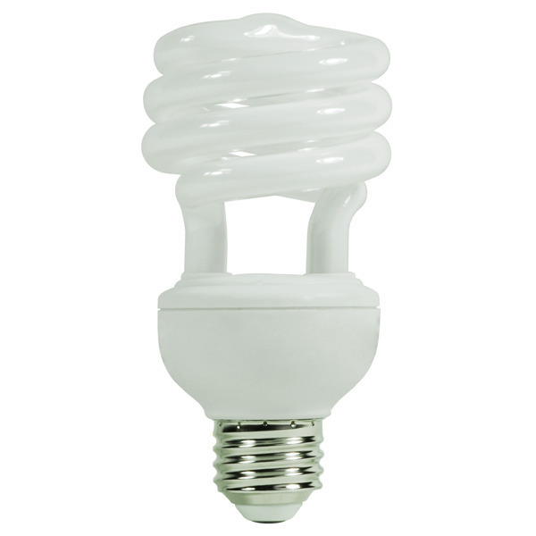 Spiral CFL - 20 Watt - 75W Equal - 4100K Cool White Image