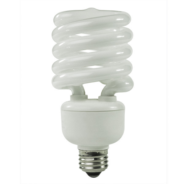 Spiral CFL - 32 Watt - 130W Equal - 4100K Cool White Image