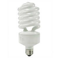 Spiral CFL - 42 Watt - 150W Equal - 2700K Warm White - 82 CRI - 64 Lumens per Watt