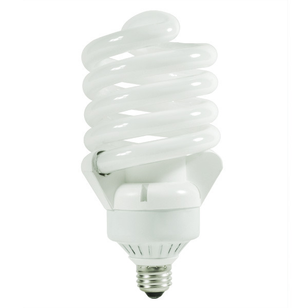 Spiral CFL - 65 Watt - 200W Equal - 4100K Cool White Image