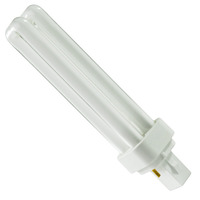 SYLVANIA 21110 - CF18DD/835/ECO - 18 Watt - 2 Pin G24d-2 Base - 3500K - CFL