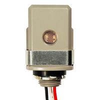SPST Photocell - Stem Mounting - LED Compatible - 120 Volt - Precision Multiple T-15