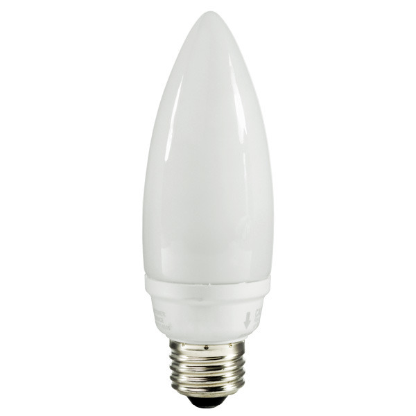 Torpedo CCFL - 8 Watt - 40W Equal - 2400K Incandescent Warm White Image