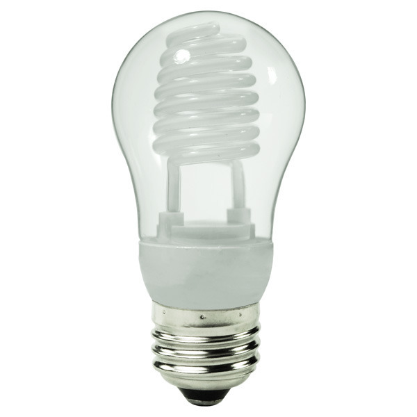 A-Shape CCFL - 5 Watt - 25W Equal - 2700K Warm White Image