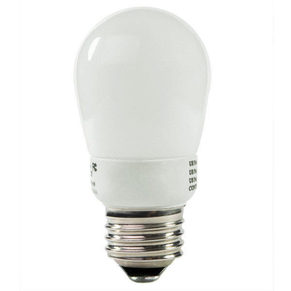 S14 CFL - 2 Watt - 11 W Equal - 2700K Warm White Image