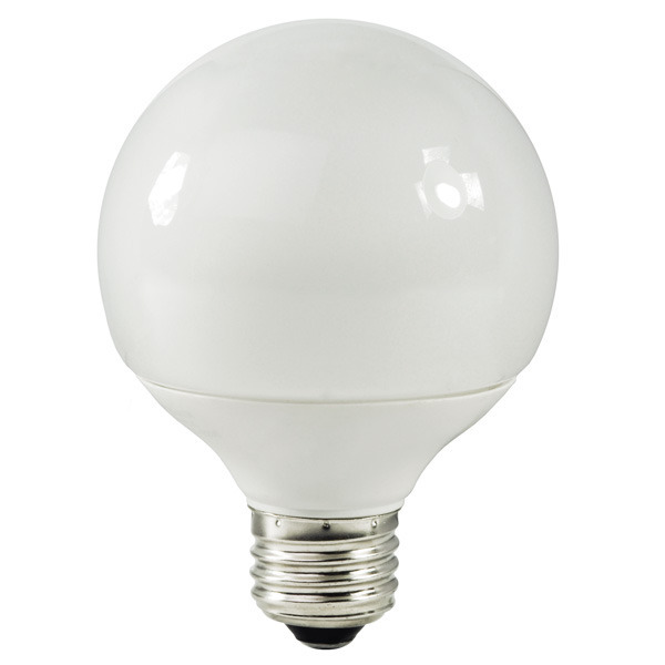 G25 CCFL - 3 Watt - 15W Equal - 2700K Warm White Image