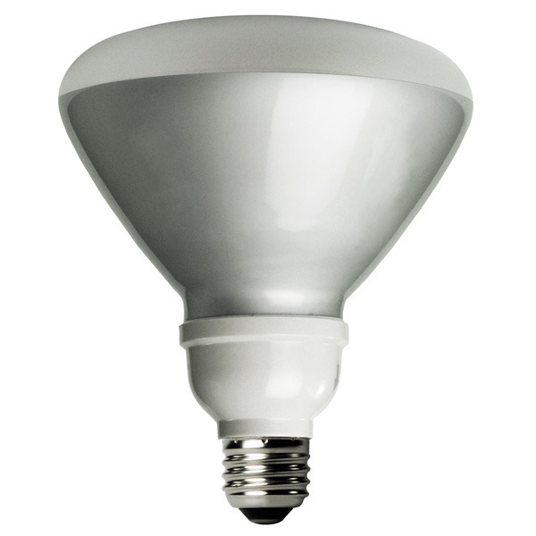 BR40 CFL - 23 Watt - 90 Watt Equal - 5000 Kelvin - Full Spectrum Image