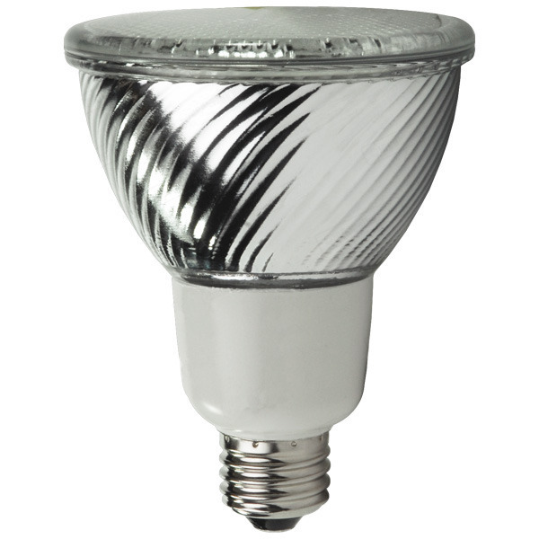 PAR30 CFL - 16 Watt - 75 Watt Equal - 4100 Kelvin - Cool White Image