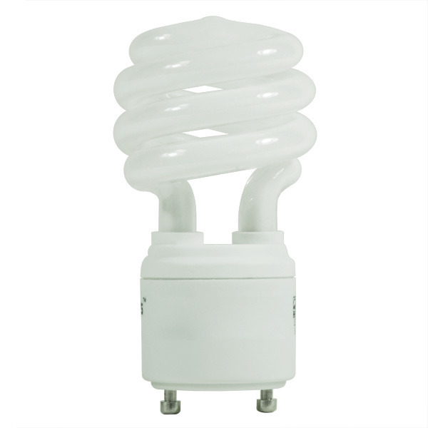 Spiral CFL - 18 Watt -  75W Equal - 2700K Warm White Image
