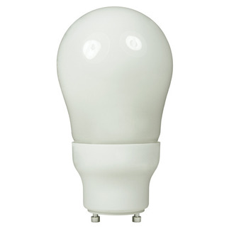 15 Watt  - 60 W Equal - Warm White 2700K - CFL Light Bulb - A Shape - GU24 Base - Global Consumer Products 126 GU24 CFL