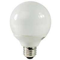 G30 CFL - 15 Watt - 60W Equal - 5000K Full Spectrum - 80 CRI - 53 Lumens per Watt