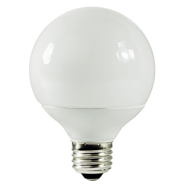 G25 CFL - 14 Watt - 60W Equal - 4100K Cool White Image