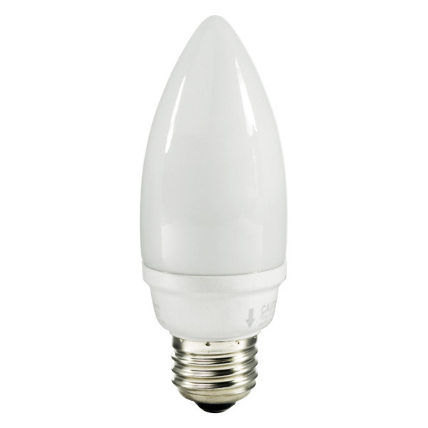 Torpedo CFL - 9 Watt - 40W Equal - 2700K Warm White Image