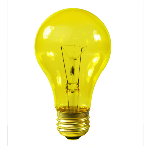 Satco S6083 25 Watt Yellow Bulb