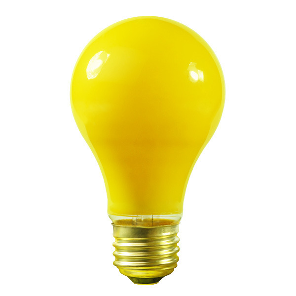 Satco S4987 - 60 Watt - Opaque Yellow Image