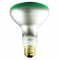65 Watt - BR30 - Green - Flood - 130 Volt - 5000 Life Hours