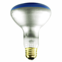75 Watt - BR30 Incandescent Light Bulb - Blue - Medium Brass Base - 120 Volt - Bulbrite 243075