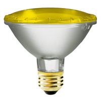 75 Watt - PAR30 - Yellow - Halogen - 2,500 Life Hours - 120 Volt