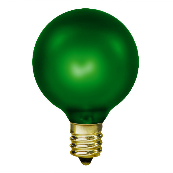 15 Watt - Emerald Green - G16.5 (G50) Image