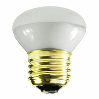 25 Watt - R14 - Mini Incandescent Reflector - Frosted - Flood - Medium Base - 180 Lumens - 1,500 Life Hours - 120 Volt