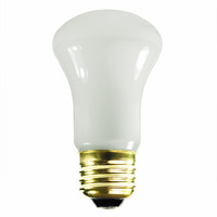 40 Watt - R16 - Incandescent Reflector - Frosted - Flood - Medium Base - 235 Lumens - 3,000 Life Hours - 130 Volt