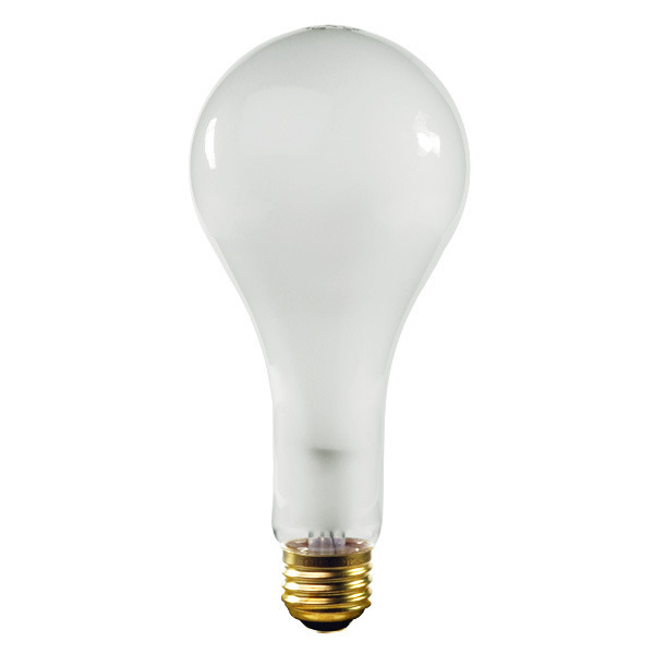 300W - PS25 Bulb - Frost - 5,000 Hours - Halco 401306