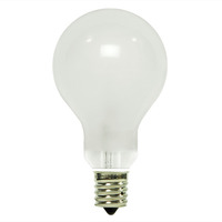 25 Watt - A15 - Frost - Ceiling Fan Bulb - Intermediate Base - 1,500 Life Hours - 190 Lumens - 130 Volt