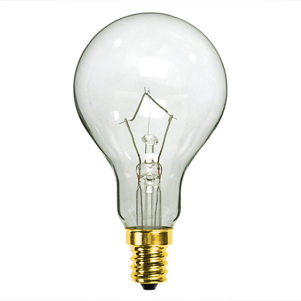 25 Watt - A15 - Clear - Ceiling Fan Bulb Image