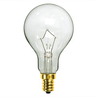 60 Watt - A15 - Clear - Ceiling Fan Bulb - Candelabra Base - 1,500 Life Hours - 700 Lumens - 130 Volt