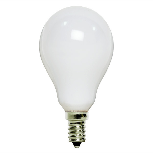 25 Watt - A15 - White - Ceiling Fan Bulb Image