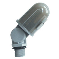 TORK 2001 - Photo Control - LED Compatible - Thermal Type Photocell - 1/2 in. Conduit Mounting with Swivel - 120 Volt