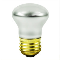 40 Watt - R14 - Incandescent Reflector - Frosted - Clear - Medium Base - 280 Lumens - 1,500 Life Hours - 120 Volt