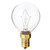 40 Watt - G14 Globe Incandescent Light Bulb Thumbnail