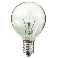 25 Watt - G11 Globe Incandescent Light Bulb - Clear - Candelabra Base - 120 Volt - Bulbrite 461025